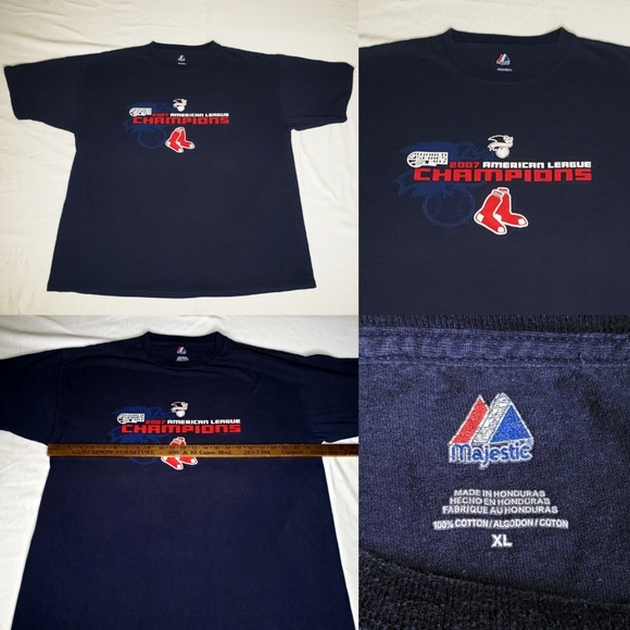 Majestic Other - VTG Boston Red Sox Majestic MLB 2007 World Series